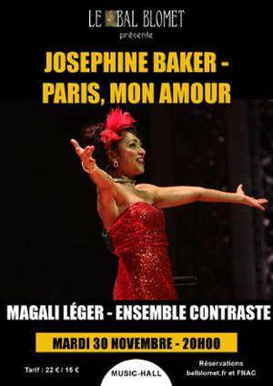 JOSÉPHINE BAKER – PARIS, MON AMOUR
