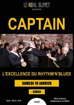 CAPTAIN - Le Rhythm & Blues de la Nouvelle Orleans