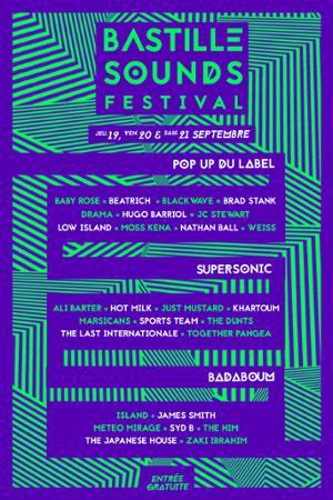 BASTILLE SOUNDS FESTIVAL // JUST MUSTARD + THE DUNTS + HOT MILK