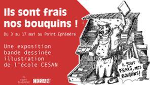 L'ÉCOLE CESAN EXPOSE - ILS SONT FRAIS NOS BOUQUINS
