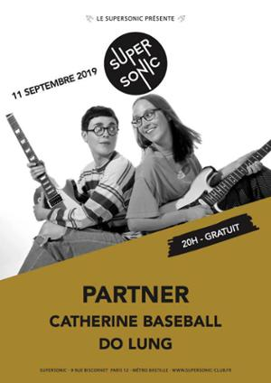 Partner (indie, CAN) en concert au Supersonic / Free entry
