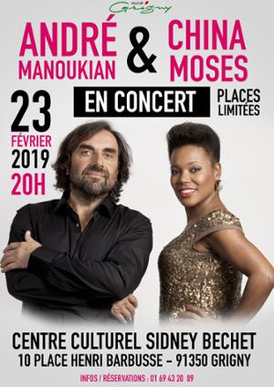 André Manoukian & China Moses en concert