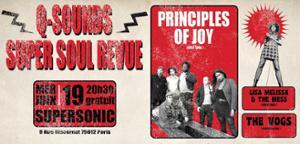 Principles of Joy • Lisa Melissa & The Mess • The Vogs / Free