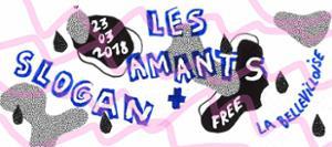 SLOGAN + LES AMANTS