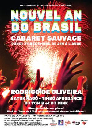 NOUVEL AN DO BRASIL au Cabaret Sauvage !