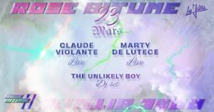 Rose Bitume #2 w/ Claude Violante