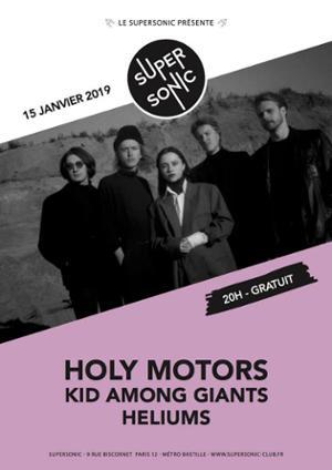 Holy Motors (dream pop, tallinn) • Heliums / Supersonic