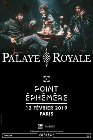 PALAYE ROYALE + THE HAUNT + FLASH FORWARD