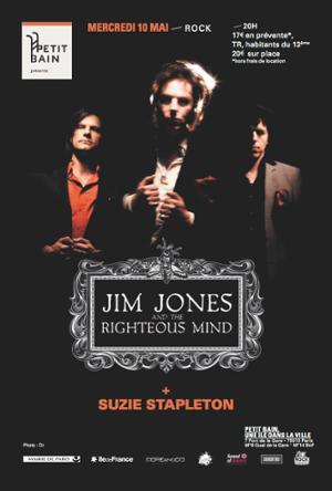 JIM JONES & THE RIGHTEOUS MIND + SUZIE STAPLETON