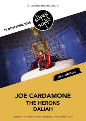 Joe Cardamone (The Icarus Line) • The Herons • Daliah / Free