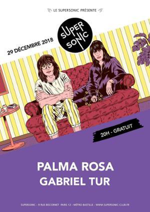 Palma Rosa • Gabriel Tur / Supersonic (Free entry)