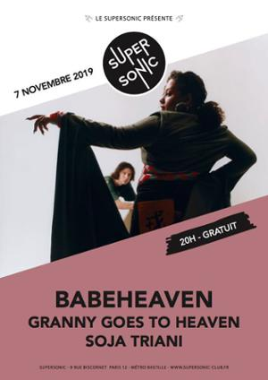Babeheaven en Concert / Supersonic - Free