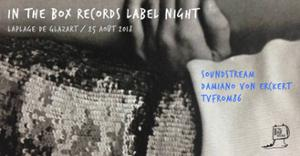 In The Box Records Label Night