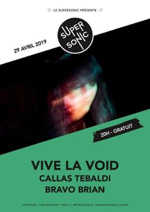 Vive La Void (Moon Duo, Sacred Bones) • Callas Tebaldi en concert au Supersonic
