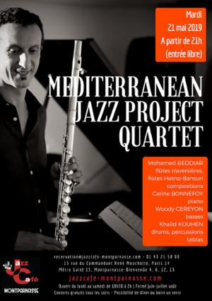 Mediterranean Jazz Project Quartet au Jazz Café Montparnasse