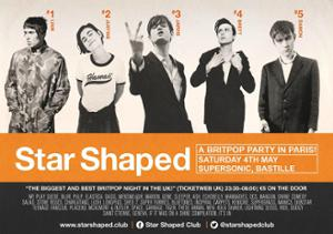 Star Shaped Club Paris - Britpop Party at Supersonic