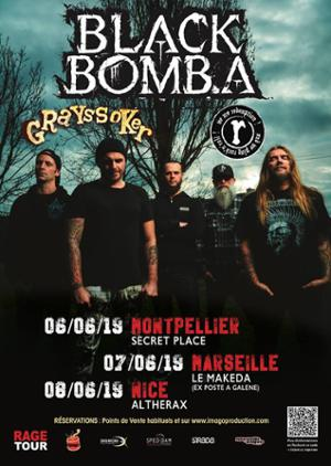 Black Bomb A / Redemption / Grayssoker • Le Makeda [Marseille]