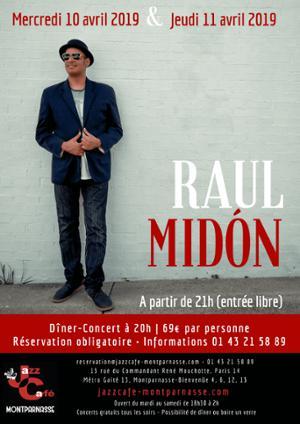 Raul Midón au Jazz Café Montparnasse