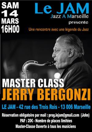 Master-Class Jerry Bergonzi