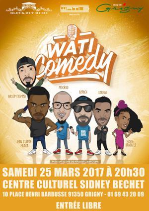 Spectacle du Wati Comedy