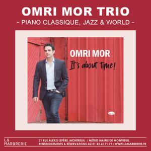 Omri Mor Trio à La Marbrerie