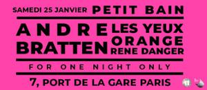 Andre Bratten • Les Yeux Orange • René Danger