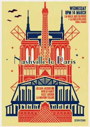 DOWNTOWN WRITER'S ROUND: NASHVILLE A PARIS