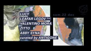 Concrete: Antigone, Lucy, Leafar Legov Live