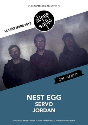 Nest Egg (Fuzz Club) • SeRvo • Jordan / Supersonic - Free entry