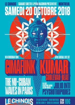 The Nu Cuban Waves- Cimafunk et Kumar Sublevao beat + Djs Julio Inti & Psycho Tropiques
