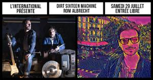 Rom Albrecht + Dirt Sixteen Machine