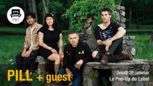 Pill + guest - Paris l Le Pop-Up du Label