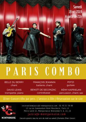 Paris Combo au Jazz Café Montparnasse