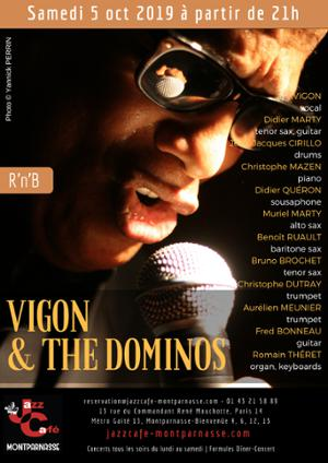 Vigon & The Dominos au Jazz Café Montparnasse
