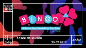 QW - Soirée de soutien Queer Week 2018 x Bingo Drag