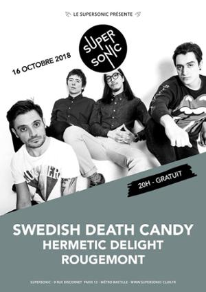 Swedish Death Candy • Hermetic Delight / Supersonic - Free