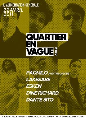 Quartier En Vague / 2ème Édition LIVES