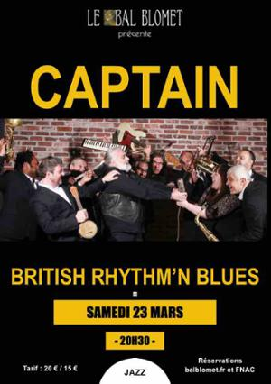 CAPTAIN - BRITISH RHYTHM & BLUES