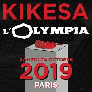 KIKESA • L'Olympia, Paris • 26 Octobre 2019