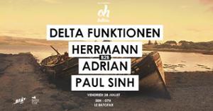 Beat à l'air Presents Delta Funktionen Herrmann Adrian Paul Sinh
