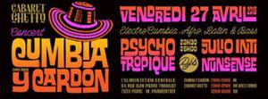 Cumbia Y Cardon Djs Julio Inti Nunsense Psycho Tropiques