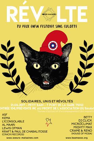 Révolte : Soeurs Malsaines x Le Baam