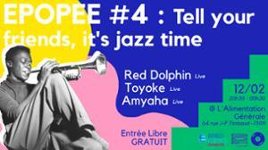 Epopée #4 : Tell Your Friends, it's jazz time! RD*Amhaya*Toyoke