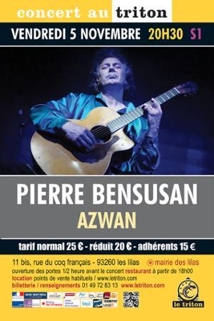 Pierre Bensusan présente « Azwan »