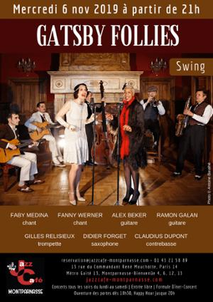 Gatsby Follies au Jazz Café Montparnasse