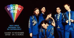 Electric Feel / Nuit Indie & Modern Pop du Supersonic