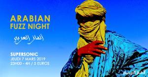 Arabian Fuzz Night ألفاز العربي avec Elektro Hafiz en live