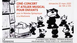 CINÉ-CONCERT ET ATELIER MUSICAL POUR ENFANTS