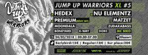 Jump Up Warriors XL #5
