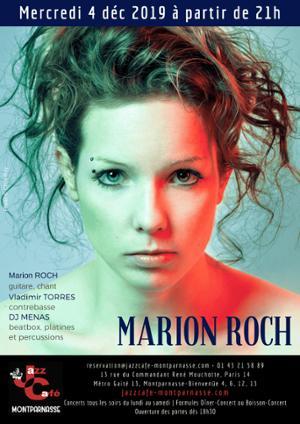 Marion Roch au Jazz Café Montparnasse